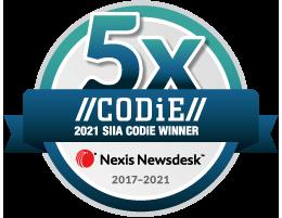 Newsdesk-5Years-CODiE-Winner2